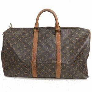 Auth Louis Vuitton Keepall Travel Bag #865L17